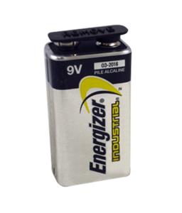 BATTERY, 9V, ALKALINE, 9V, 600 MAH by R&D Batteries, Inc.