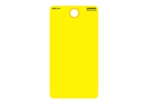 BLANK TAG CARDSTOCK COLORED PK25 by Electromark