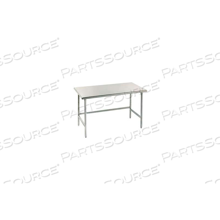 """WORKBENCH, 14 GA. 304 SERIES STAINLESS, 96""""WX30""""D by Advance Tabco"""