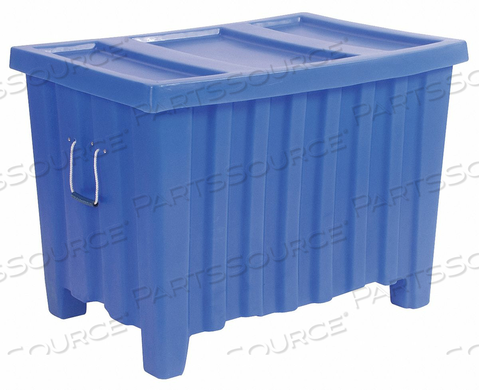 CONTAINER 14 CU.-FT. 500 LBS. BLUE by Myton Industries