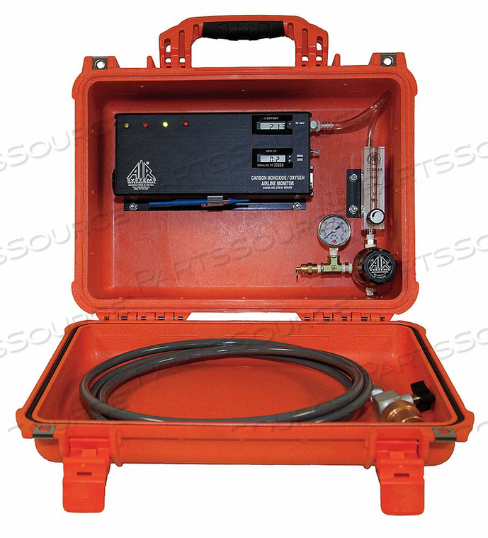 CO/O2 TEST MONITOR FOR HP CYLINDERS by Air Systems International