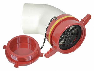 DRY HYDRANT 45 ADAPTER 5 IN FEMALE by Moon American