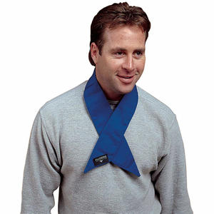 COOLING NECK WRAP, DELUXE, BLUE by Allegro