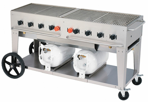 GAS GRILL 2 30 LB TANKS by Crown Verity