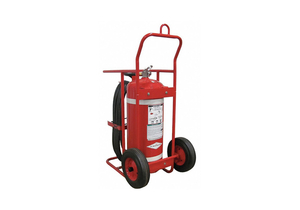 WHEELED FIRE EXTINGUISHER 150 LB. 50 FT by Amerex