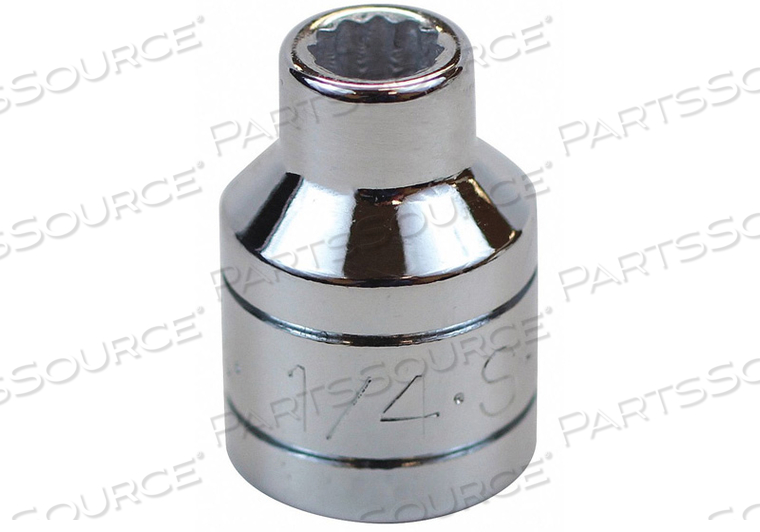 SOCKET 3/8 IN DR 1/4 IN. 12 PT. by SK Professional Tools