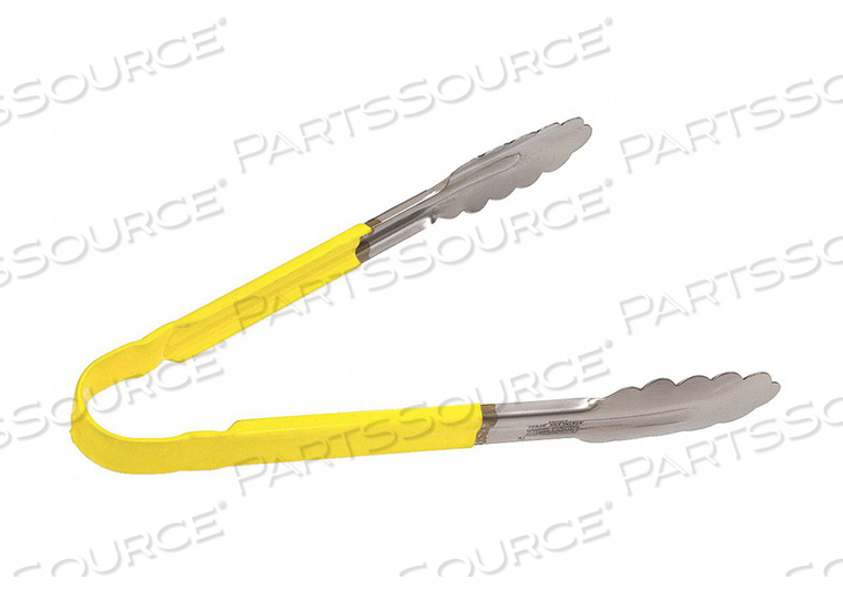 TONG YELLOW 10 IN L STAINLESS STEEL by Crestware