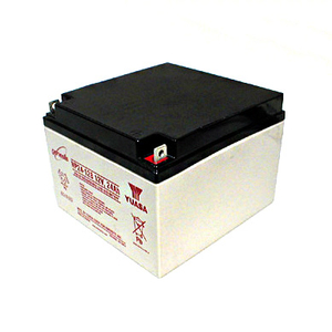 RECHARGEABLE SEALED LEAD ACID REPLACEMENT BATTERY, SEALED LEAD ACID, 26 AH, 12 V, NUT AND BOLT, 6.97 IN X 4.92 IN X 6.56 IN by R&D Batteries, Inc.