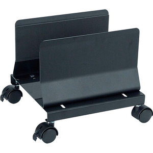 HEAVY DUTY MOBILE CPU STAND, BLACK by Aidata