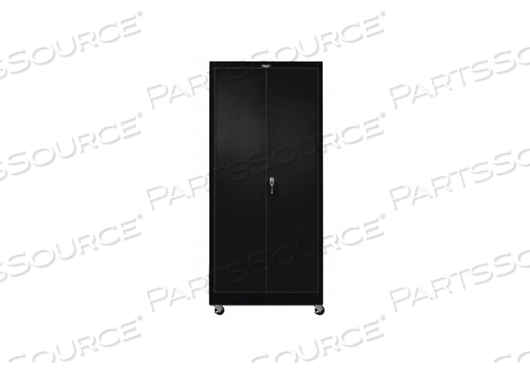 G6767 SHELVING CABINET 72 H 36 W BLACK by Hallowell
