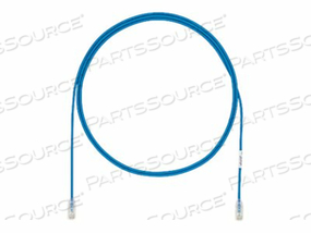 PANDUIT TX6A-28 CATEGORY 6A PERFORMANCE - PATCH CABLE - RJ-45 (M) TO RJ-45 (M) - 5.9 IN - UTP - CAT 6A - IEEE 802.3AF/IEEE 802.3AT/IEEE 802.3BT - BOOTED, HALOGEN-FREE, SNAGLESS, SOLID - BLUE - (QTY PER PACK: 48) by Panduit