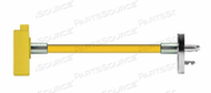 NON CONDUCTIVE HOSE ASSEMBLY, 1/4 IN OD, AIR, YELLOW, FEMALE X MALE CONNECTION, 15 FT by Amvex (Ohio Medical, LLC)