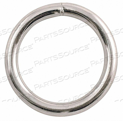 CONNECTOR WELDED RING STEEL CAP 450 LB by Lucky Line Products