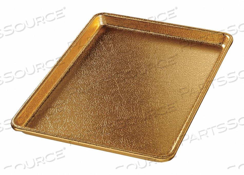 DISPLAY PAN GOLD ALUMINUM 9-1/2X13 by Chicago Metallic