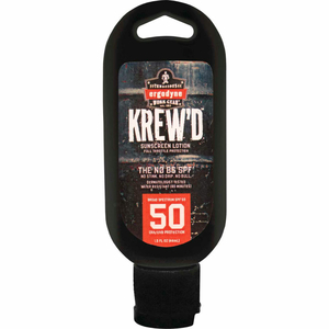 6352 KREW'DSPF 50 SUNSCREEN LOTION, 1.5OZ WITH DISPLAY, 12-PACK by Ergodyne
