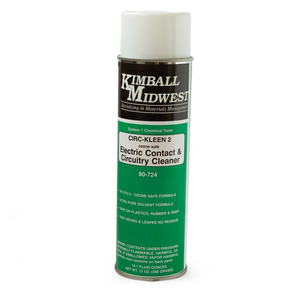 ELECTRONIC CONTACT AND CIRCUITRY CLEANER by Kimball Midwest