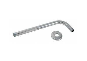 SHOWER ARM FLANGE L 12 IN L BRASS by Trident