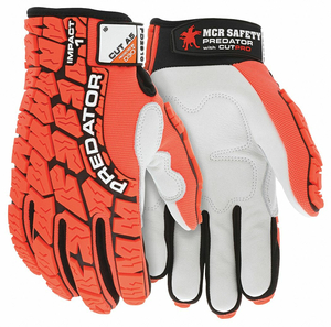 IMPACT RESISTANT GLOVE M FULL FINGER PR by MCR Safety