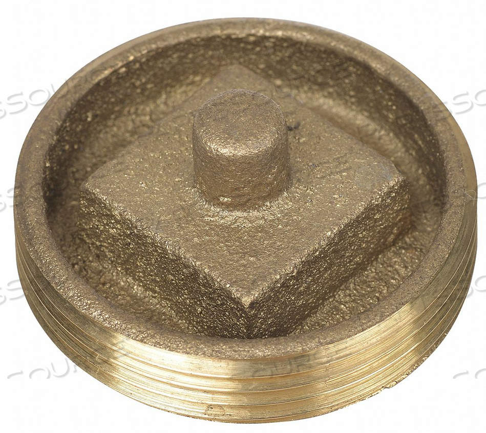CLEANOUT PLUG RECESSED HEAD 2.5 IN by Oatey
