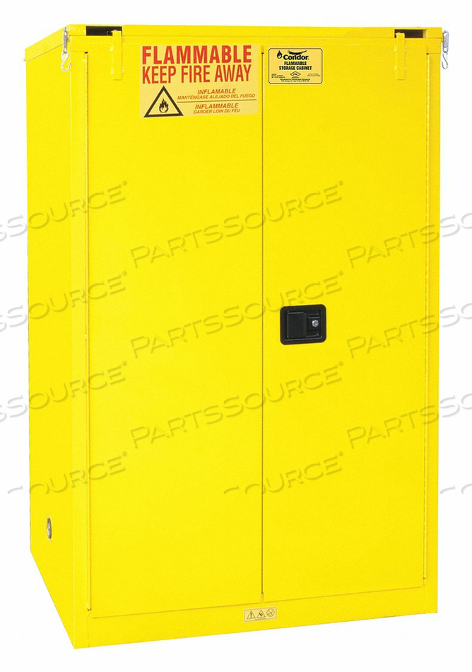 FLAMMABLE LIQUID SAFETY CABINET 90 GAL. by Condor