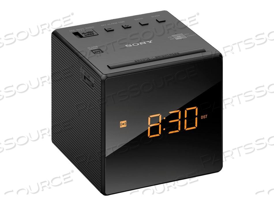 SONY ICF-C1 - CLOCK RADIO - 100 MW - BLACK by Sony Electronics