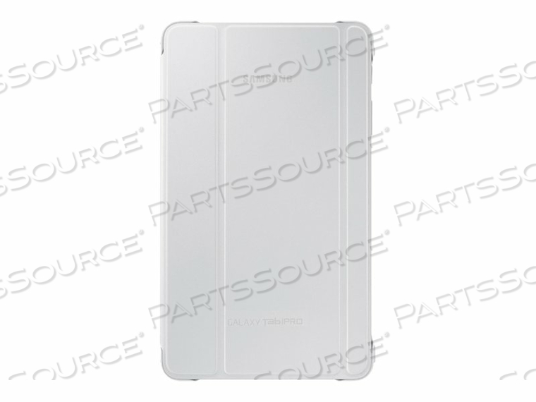 SAMSUNG BOOK COVER EF-BT320B - FLIP COVER FOR TABLET - WHITE - FOR GALAXY TABPRO (8.4 IN)