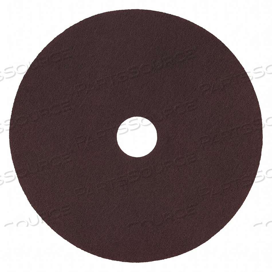 STRIPPING PAD SIZE 15 MAROON ROUND PK10 by Tough Guy