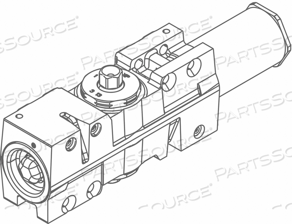 STANDARD CYLINDER ASSEMBLY 12-1/8 IN L by LCN