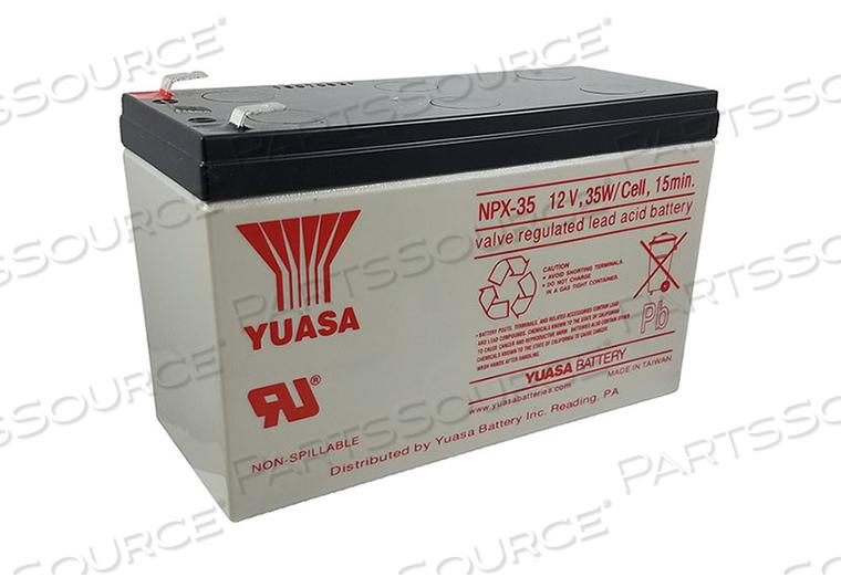 12 VOLT 8.5 AH SLA BATTERY by R&D Batteries, Inc.