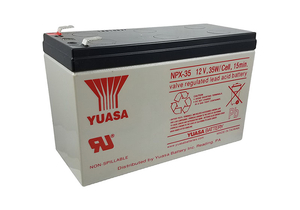 BATTERY, SEALED LEAD ACID, 12V, 8.5 AH, FASTON by R&D Batteries, Inc.