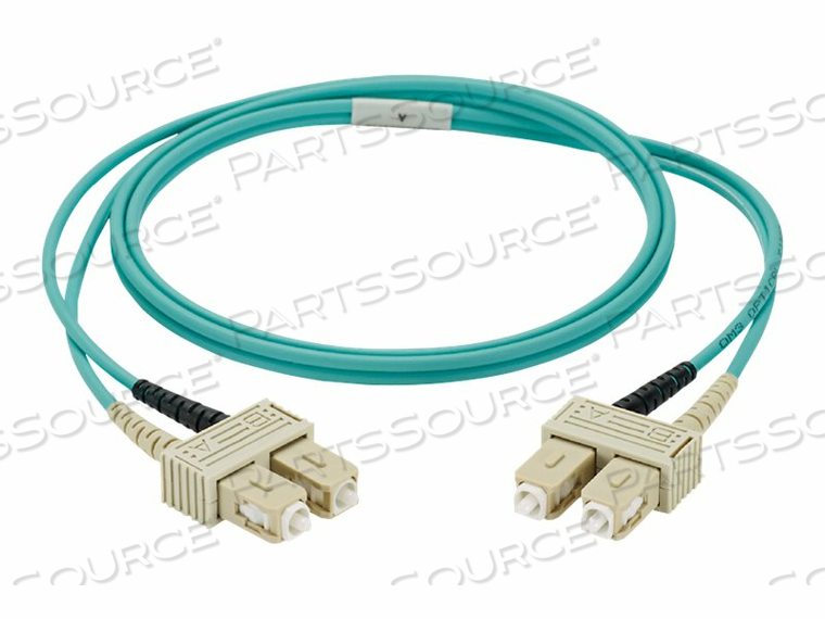 PANDUIT NETKEY - PATCH CABLE - SC SINGLE-MODE (M) TO SC SINGLE-MODE (M) - 2 M - FIBER OPTIC - 9 / 125 MICRON - OS2 - RISER - YELLOW by Panduit
