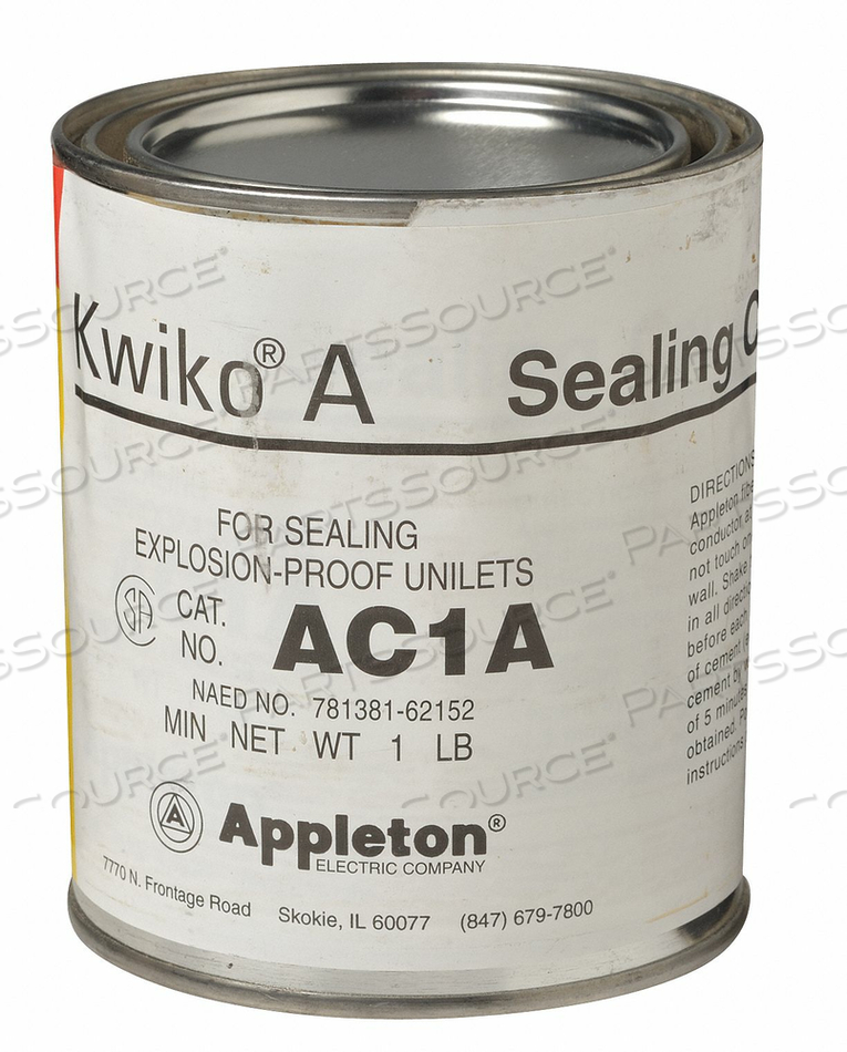 SEALING CEMENT 16 OZ. CAN by Appleton Electric