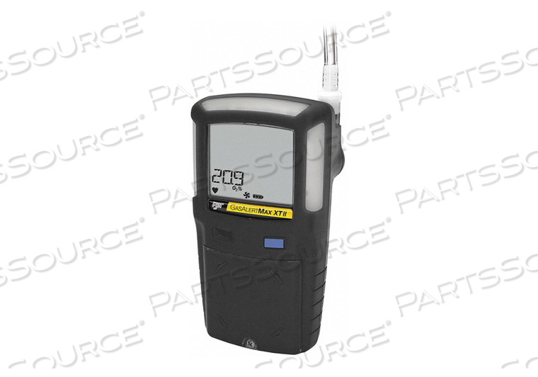 SINGLE GAS DETECTOR H2S 0-200 PPM NA BLK by BW Technologies