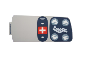 INNER LEFT NURSE CALL LABEL by Stryker Medical