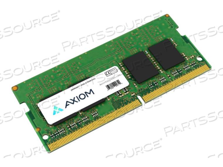 AXIOM AX - DDR4 - 4 GB - SO-DIMM 260-PIN - 2400 MHZ / PC4-19200 - 1.2 V - UNBUFFERED - NON-ECC - FOR LENOVO 320-15, 320S-15, 330-15, 330-17, 720S TOUCH-15, B320-14, V130-14, V330-14, V330-15 by Axiom