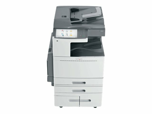 LEXMARK X954DHE - MULTIFUNCTION PRINTER - COLOR - LED - LEDGER/A3 (11.7 IN X 17 IN) (ORIGINAL) - A3/LEDGER (MEDIA) - UP TO 55 PPM (COPYING) - UP TO 55 PPM (PRINTING) - 3140 SHEETS - 33.6 KBPS - USB 2.0, GIGABIT LAN, 2 X USB HOST - GOVERNMENT GSA by Lexmark