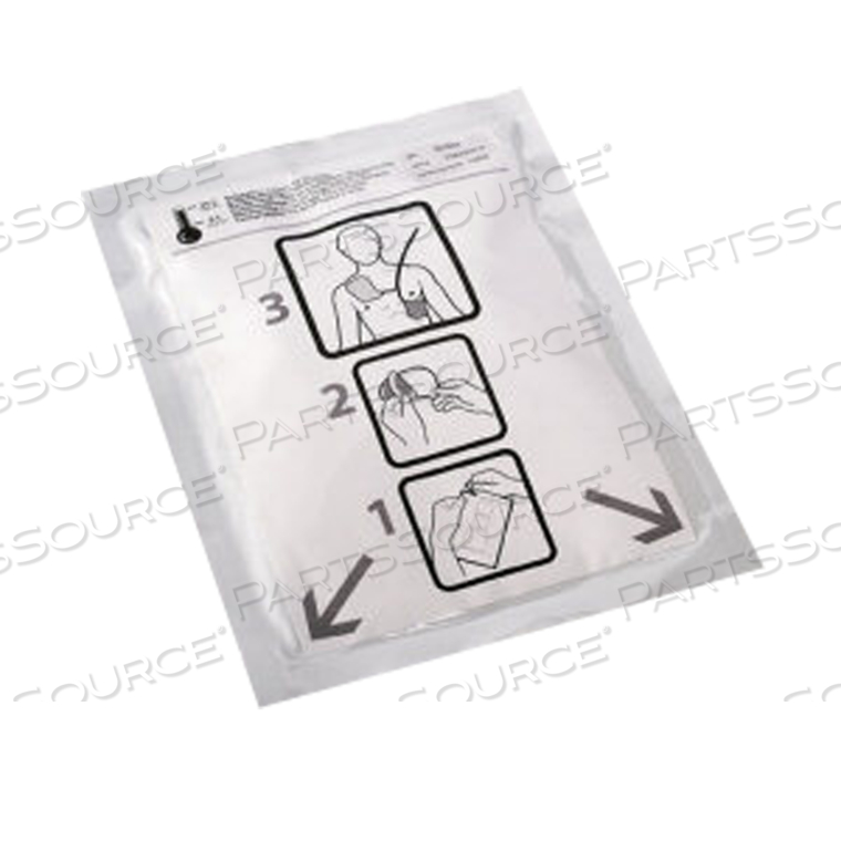 AED DEFIB PADS,ADULT,10 (END OF LIFE / NO LONGER SUPPORTED BY OEM)