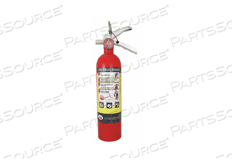 FIRE EXTINGUISHER ALUMINUM 3-1/4 IN DIA by Badger