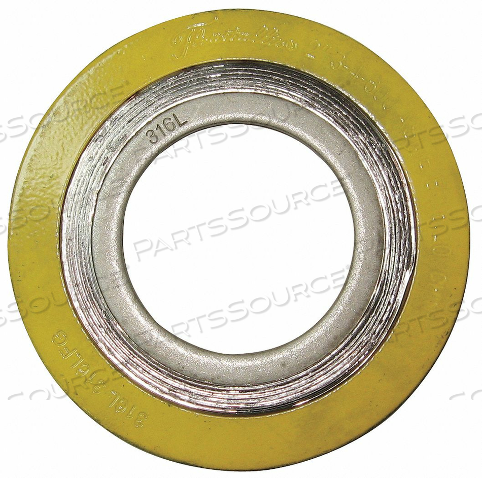 SPIRAL WOUND METAL GASKET 4 IN 316SS by Flexitallic