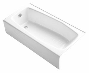 SOAKING TUB WITH DRAIN WHITE 14 H by Kohler