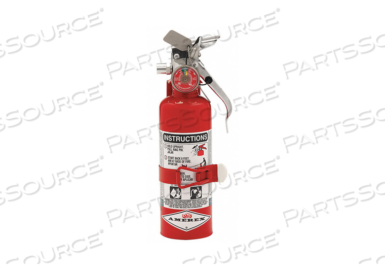 FIRE EXTINGUISHER HALOTRON ABC 1B C by Amerex
