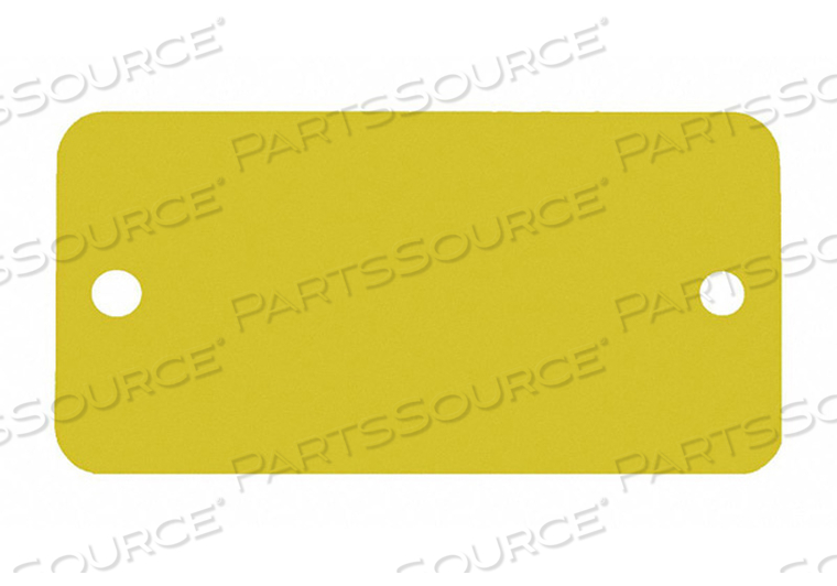 BLANK TAG RECTANGLE GOLD PK5 by C.H. Hanson
