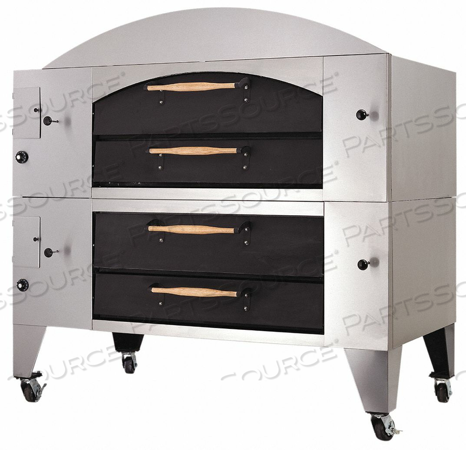 GAS DECK OVEN DOUBLE DISPLAY by Bakers Pride