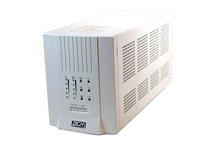 LINE INTERACTIVE UPS, 2 VA, 12 W, 50/60 HZ, 6.7 X 17.7 X 8.9 IN by Powercom America Inc