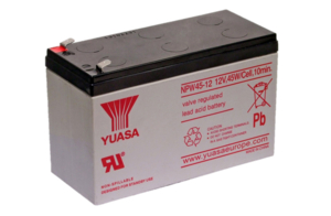 BATTERY UPS, SEALED LEAD ACID, 12V, 9 AH by Power Sonic