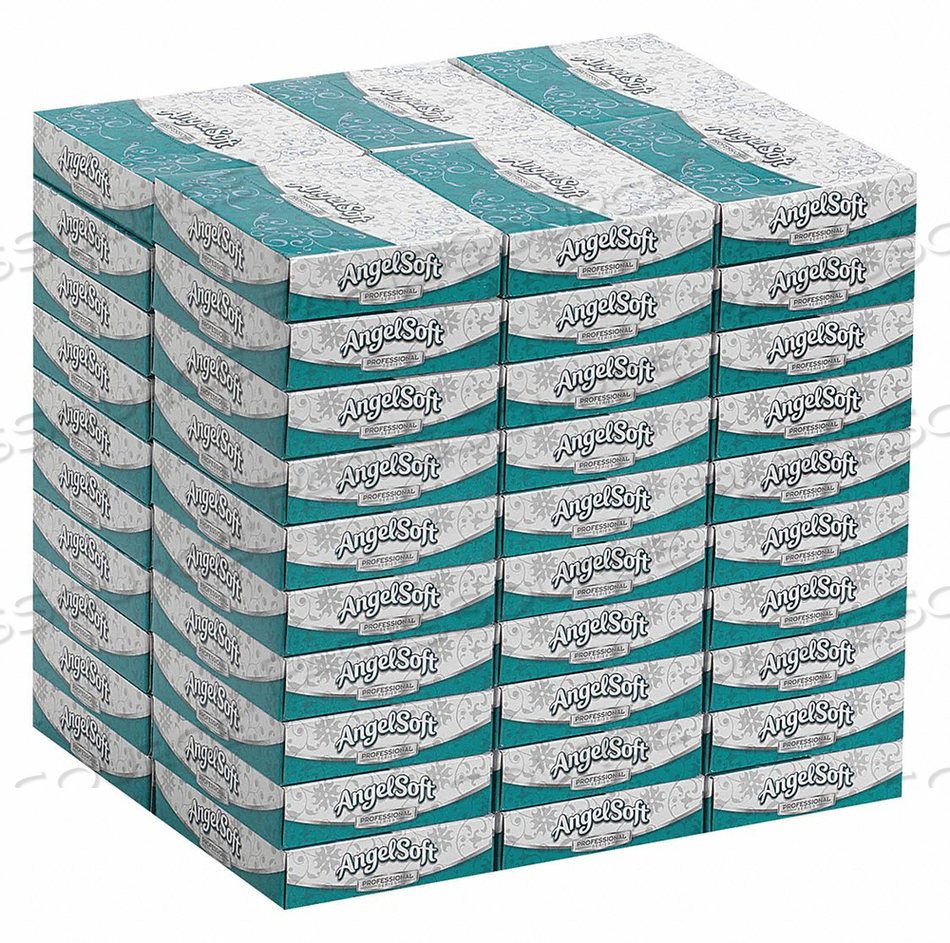 FACIAL TISSUE ANGEL SOFT PS FLAT PK60 by Georgia-Pacific