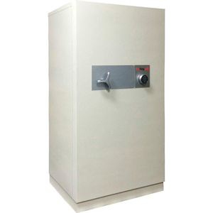 DATA SAFE , 2-HOUR FIRE/IMPACT RATING 40-7/8 X 32-3/16 X 76-13/16 LT GRAY by Fire King