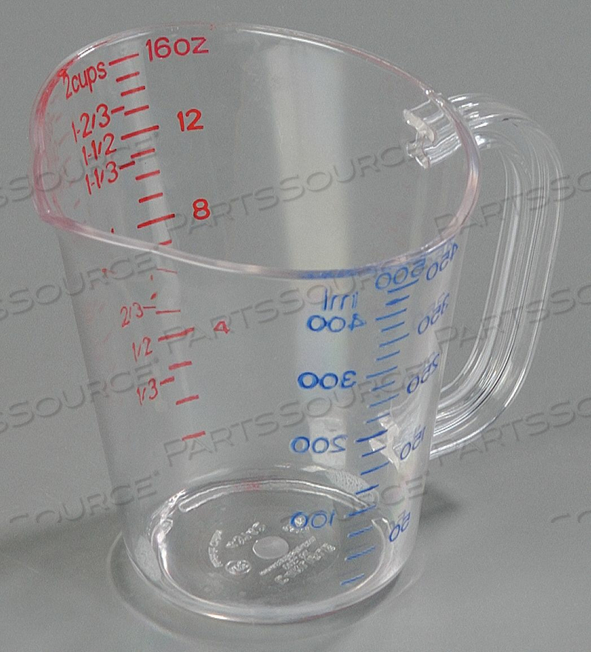 MEASURE CUP CLEAR PK6 by Carlisle