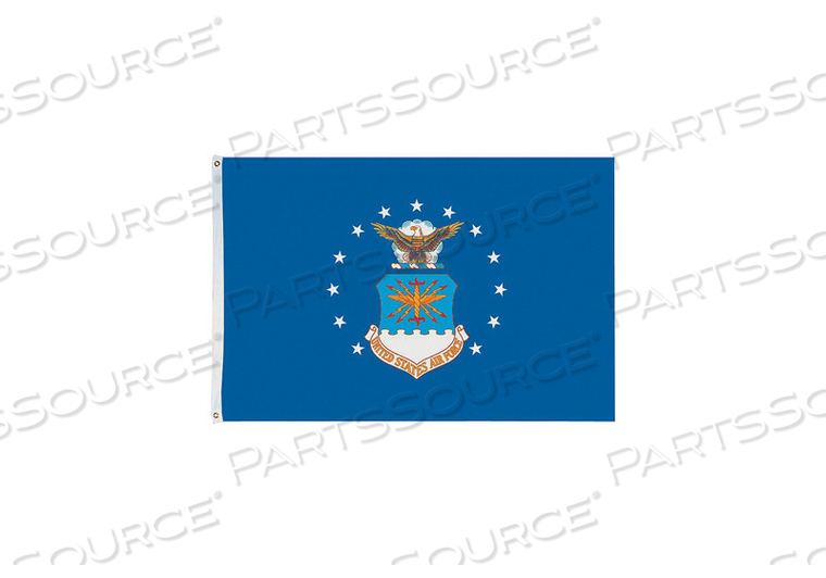 D4227 US AIR FORCE FLAG 4X6 FT NYLON by Annin Flagmakers