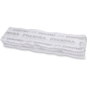 """LAUNDRY-FREE PREMIRA II DISPOSABLE MICROFIBER PADS, 5"""" X 19"""", 240 PADS/CASE by Contec"""